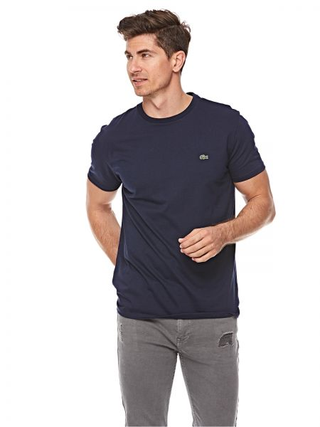 b8757ef0be28 Lacoste T-Shirt for Men - Navy Blue | KSA | Souq