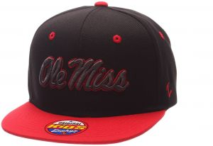 daee9e743ace7 Zephyr NCAA Mississippi Old Miss Rebels Children Boys Youth Z11 Phantom Snapback  Hat