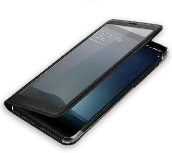 Smart Case Flip Cover For huawei Honor 8X - Black