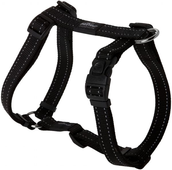 ROGZ Reflective Adjustable Dog H Harness for Extra Large Dogs ...