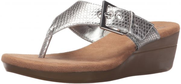 4e8a064cc15e Aerosoles Women s Flower Wedge Sandal