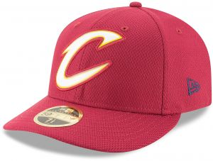 size 40 f6b7a 71a32 NBA Cleveland Cavaliers Adult Bevel Team Low Profile 59FIFTY Fitted Cap, 7,  Cardinal Red