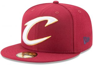 best sneakers 55b3c 1fcd6 NBA Cleveland Cavaliers Logo Grand Fitted 59Fifty Cap, 7.625, Cardinal