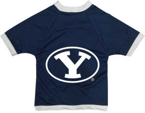 All Star Dogs NCAA Brigham Young University Cougars Collegiate Athletic Mesh  Dog Jersey (Small) 82716387b
