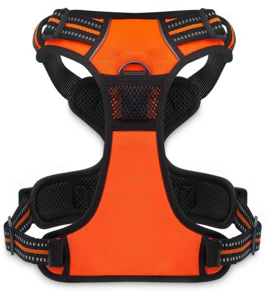 7cb5c833a Best Pet Supplies No Pull Front Range Adjustable Harness with 3M Reflective  Technology