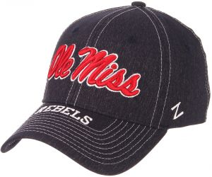 best wholesaler 8ac14 ae792 NCAA Mississippi Old Miss Rebels Men s Center Court Z-Fit Cap, X-Large, Navy