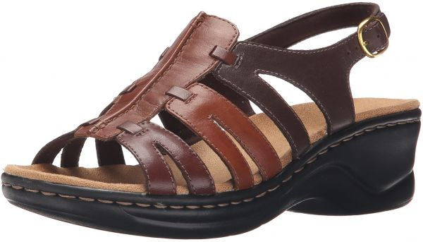 a16675cd4dc4 CLARKS Women s Lexi Marigold Q Brown Multi Leather 12 A - Narrow ...