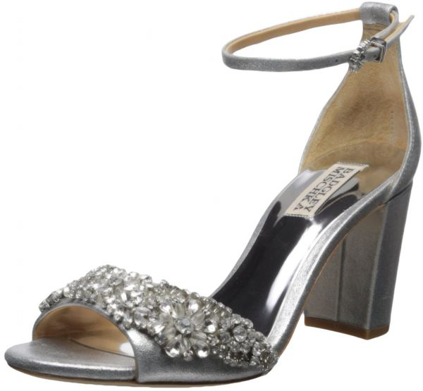 ccd5f2ede83 Badgley Mischka Women s Hines Heeled Sandal