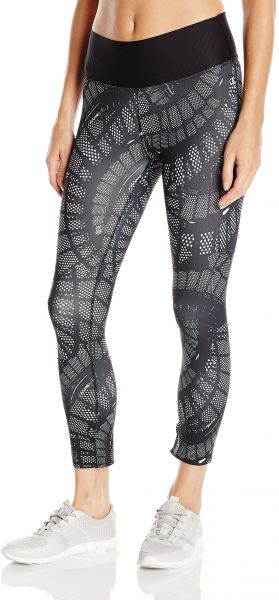 c9c83750aad7 Champion Women s 6.2 Double Dry Performance Capri Legging Print ...