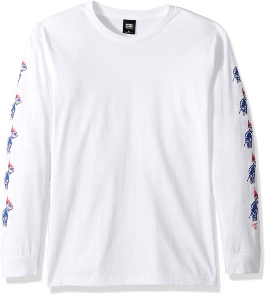 aba91f59818 Obey Men s Passion Long Sleeve Heavyweight T-Shirt