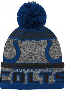 023fa8a3d77 NFL Youth Boys Cuff Pom Hat-Speed Blue-1 Size
