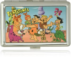 d96c05a5983 Buckle-Down Business Card Holder - THE FLINTSTONES Group Pose - Small