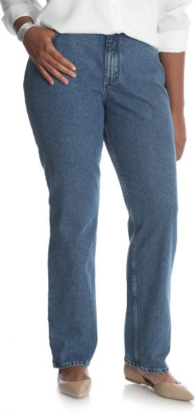 730e9d1969c Riders by Lee Indigo Women s Tall Plus Size Camden Relaxed Fit 5 ...