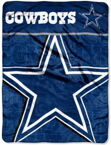 5900ba4ccb0 The Northwest Company Officially Licensed NFL Dallas Cowboys Livin Large  Micro Raschel Throw Blanket