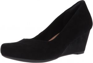 0b9abe478c67 CLARKS Women s Flores Tulip Wedge Pump