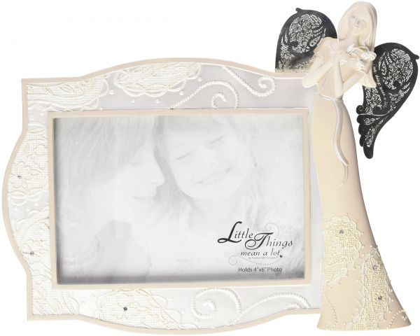 Little Things Mean A Lot Special Memories Picture Frame with Angel ...