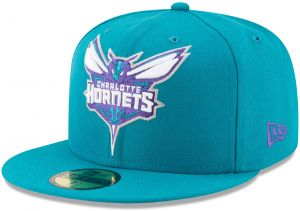 NBA Charlotte Hornets Logo Grand Fitted 59Fifty Cap 23a8b496304