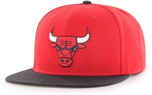 3d111e84ef2 OTS NBA Chicago Bulls Gallant Varsity Snapback Adjustable Hat