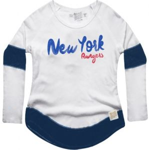 33990f24a NHL New York Rangers Women s Boyfriend Thermal Top