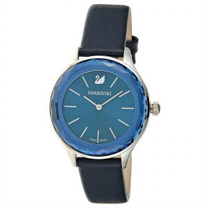 ba3d69ccd954 Swarovski Octea Nova Women s Blue Dial Leather Band Watch - 5295349