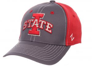 official photos a97fe baf22 Zephyr NCAA Iowa State Cyclones Boys Youth Grid Cap, Youth, Gray Team Color