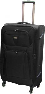 28576f71c3e4 HighFlyer 1442 1pc 32 Inch Trolley Hard Luggage Bag Set - Black