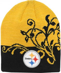 NFL by Outerstuff NFL Girls 7-16 Two Tone Cuffless Hat-Black-1 Size 03166a92e