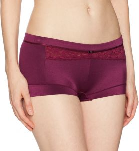 45059ffa9423 Maidenform Women's Dream Tailored Boyshort with Lace, Magenta Jam Magenta  Jam, 7