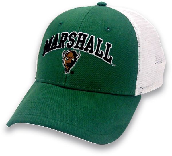 d5ad1618ba1 NCAA Marshall Thundering Herd Adult Unisex The Game Everyday Trucker Mesh  Hat