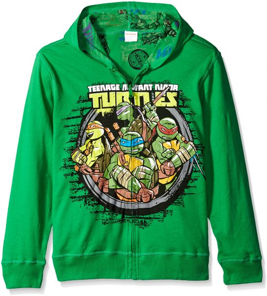 10c7c85d67f Nickelodeon Big Boys  Teenage Mutant Ninja Turtles Costume Hoodie ...