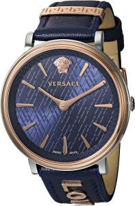 5fa4249206e16 Versace Women s  THE MANIFESTO EDITION  Quartz Stainless Steel and Leather  Casual Watch