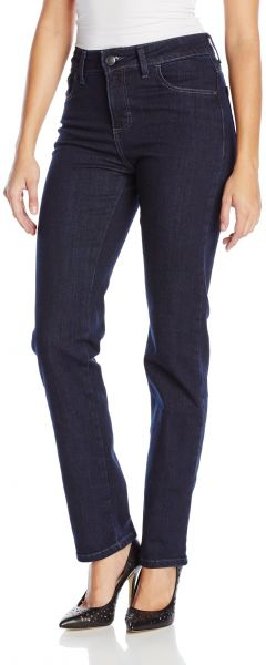 6000066428ea5 LEE Women s Instantly Slims Classic Relaxed Fit Monroe Straight Leg Jean