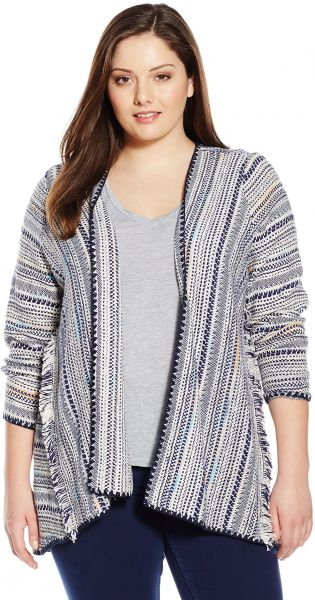 d5948bb6de6d0 Lucky Brand Women s Plus-Size Pottery Cardigan