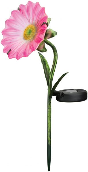 Regal Art Gift 11635 Mini Daisy Stake Solar Light Garden Decor