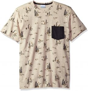 a8d2df9a3be Columbia Men's Lookout Point Pocket Tee, Stone Deer Print, Small | Souq -  UAE