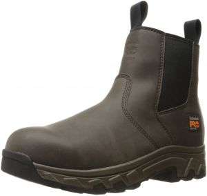 657b27702375 Timberland PRO Men s Linden Chelsea Alloy Toe Industrial and Construction  Shoe