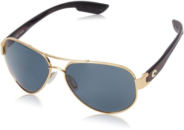 6e1ada4bf16 Costa del Mar Unisex-Adult South Point SO 26 OGP Polarized Aviator  Sunglasses
