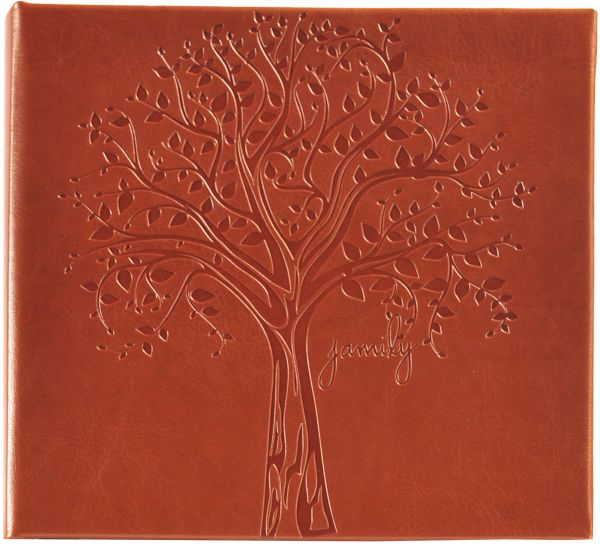 Pinnacle Frames And Accents Family Tree Embossed Photo Album Souq