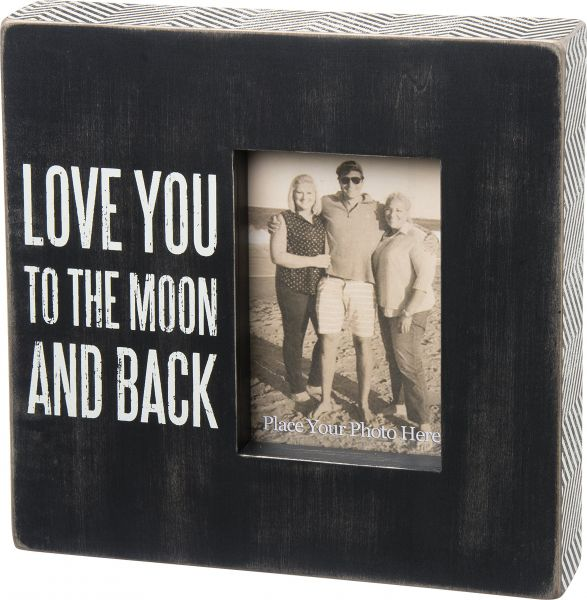 Primitives By Kathy Love You To The Moon And Back Box Frame Souq