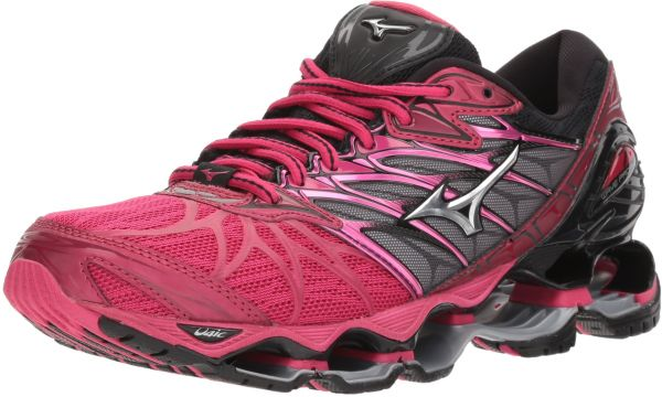 77a9788c10f2 Mizuno Women's Wave Prophecy 7 Running Shoe, Bright Rose/Silver, 10.5 B US  | KSA | Souq