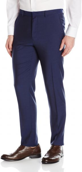 8fe152d05 HUGO by Hugo Boss Men's Contemporary Slim Fit Suit Trouser Pant ...
