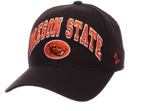 6bc2fd8f86ee77 Zephyr NCAA Oregon State Beavers Men's The Sport Headwear, Adjustable, Black