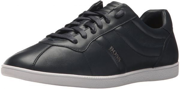 1cbceba2ff8 Hugo Boss BOSS Orange by Men s Rumba Leather Tennis Sneaker Construction  Shoe