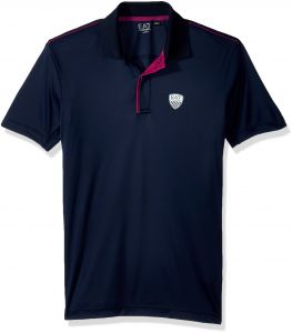 Emporio Armani EA7 Men s Training Performance and Stylite Green Club Poly.  Polo, Navy Blue, XS 8cebaa53813