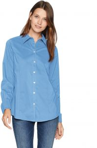 08131461e1fe9 قميص Foxcroft Women s Sarah Essential Stretch غير قابل للكي - Sarah  Essential Stretch Non Iron Shirt 8
