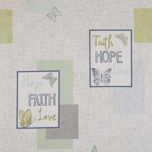Madison Park Faith Hope Love Shower Curtain