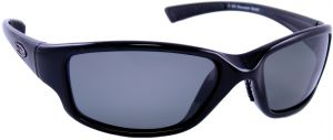 e44fb21f10c9 Sea Striker Bluewater Bandit Polarized Sunglasses Black Frame Grey Lens