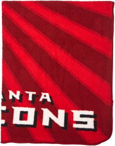 dd35aee2f The Northwest Company Officially Licensed NFL Atlanta Falcons Strobe Sherpa  on Sherpa Throw Blanket