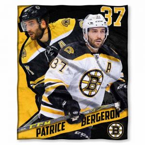 The Northwest Company Officially Licensed NHL Boston Bruins Patrice  Bergeron Players HD Silk Touch Throw Blanket fa5d91ef19c7