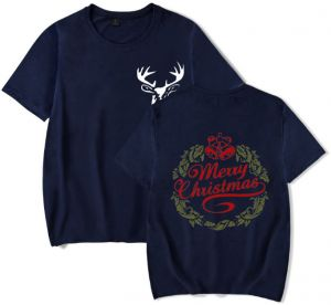 87c28f7b Merry christmas tshirt top men winter t-shirts tee mens fashion graphic tees